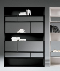 BOOKSHELVES DESIGN BY ANTONIO CITERIO